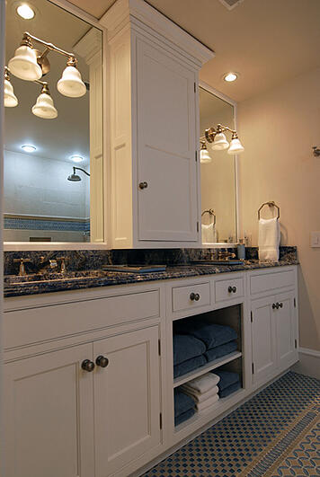 Chicago bathroom remodel pros and cons of an open vanity for Bath remodel pro