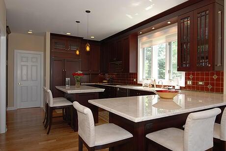 Island Peninsula Kitchen Chicago kitchen design ideas do you want an island or peninsula workwithnaturefo
