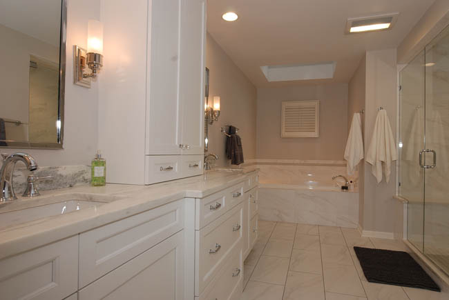 Chicago north shore bathroom design remodeling projects for Bath remodel chicago