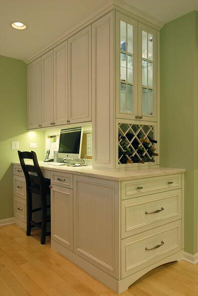 Chicago Kitchen Remodeling Contractor Get Your Dream: Chicago Kitchen Design Ideas: Should I Add A Desk To My