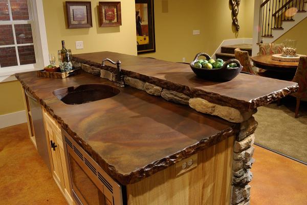 concrete kitchen countertops. concrete kitchen countertops basics