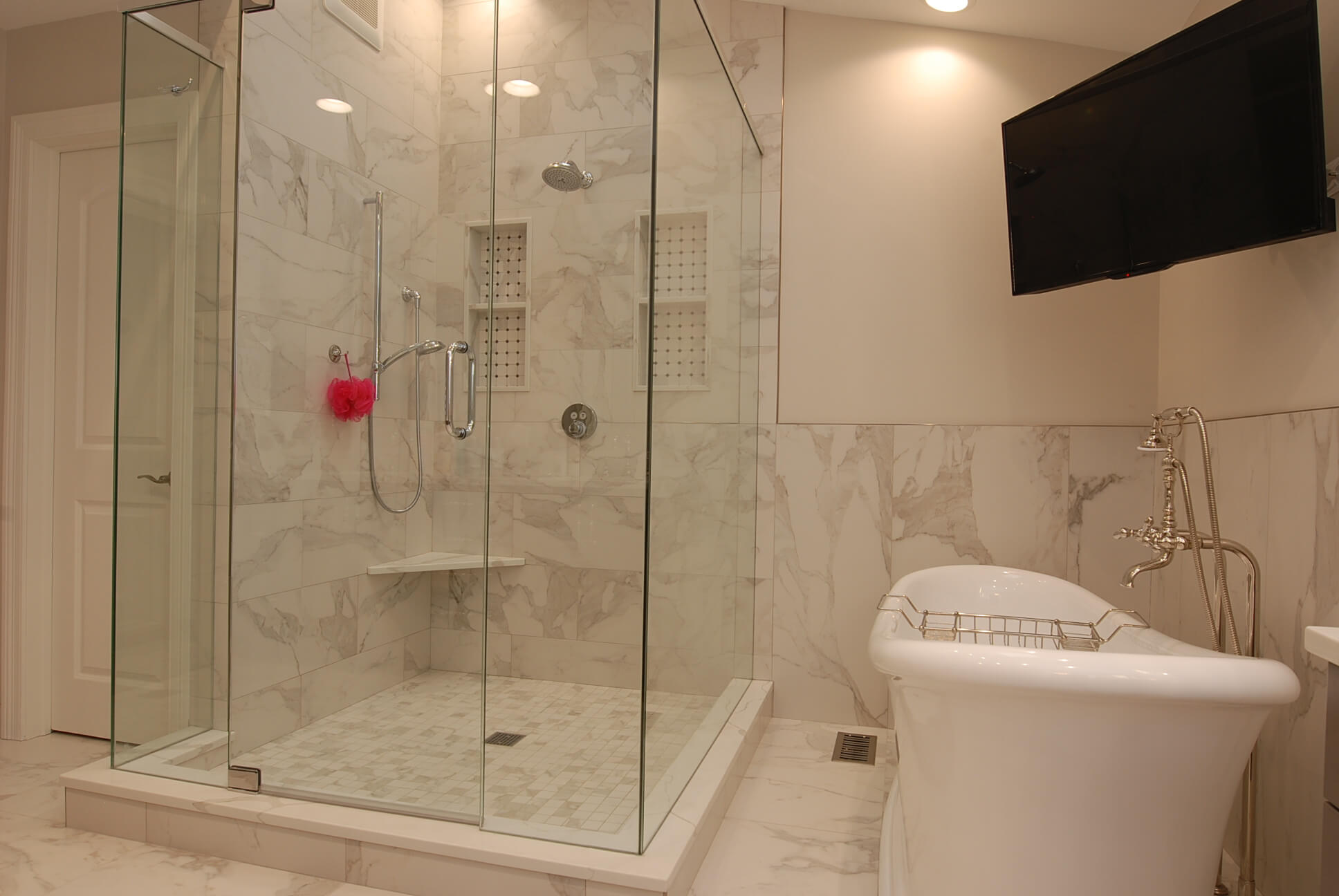 Bathroom Remodel Is Marble A Good Choice For Shower Walls And Floors