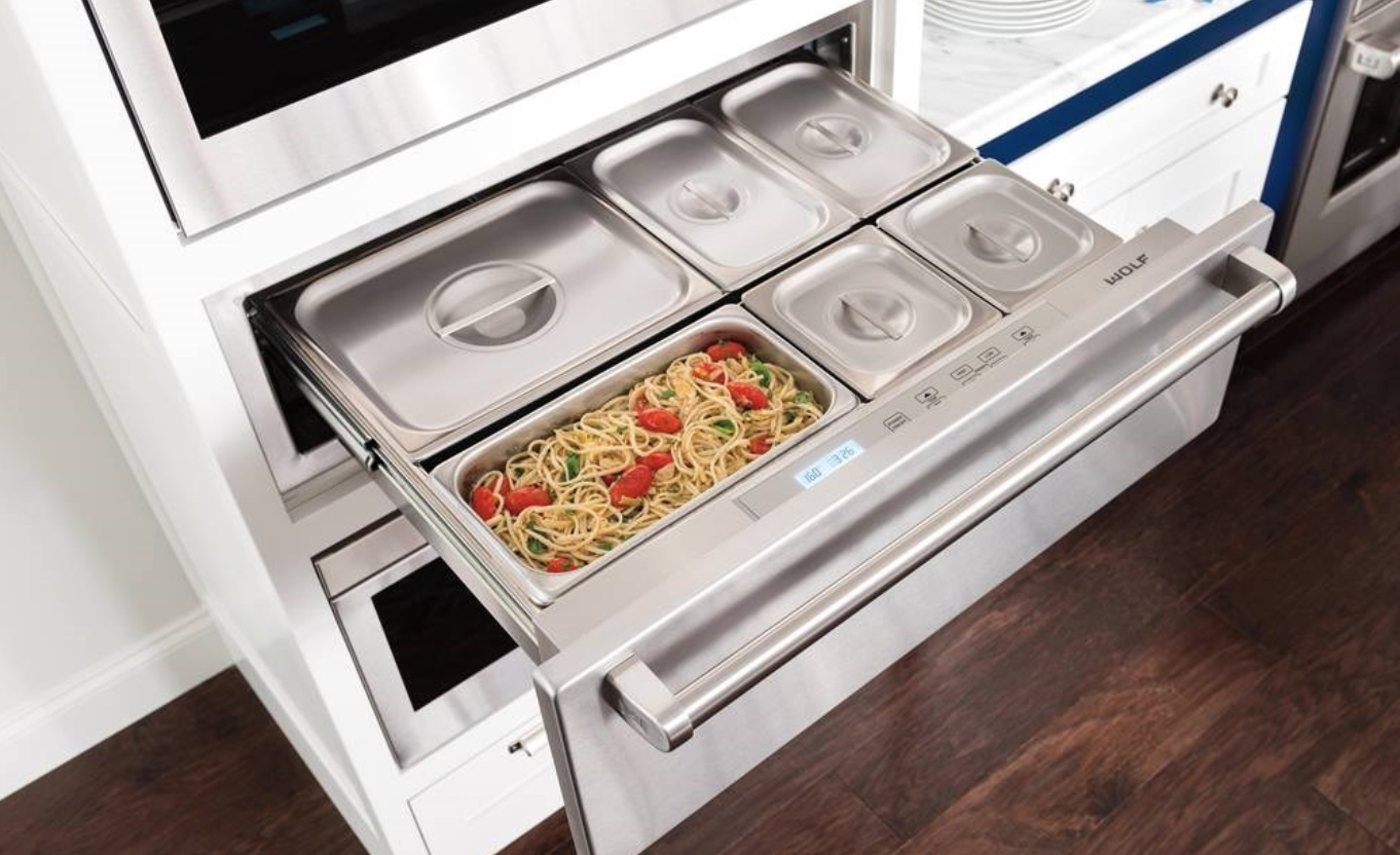 Pros Cons Of Adding A Warming Drawer To Your New Kitchen Design